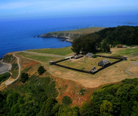 Fort Ross State Historic Park Aerial View