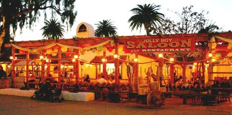 Jolly Boy restaurant in Old Town San Diego State Historic Park
