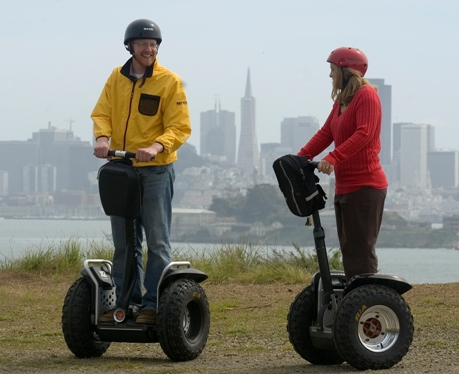 Segways at Angel Island