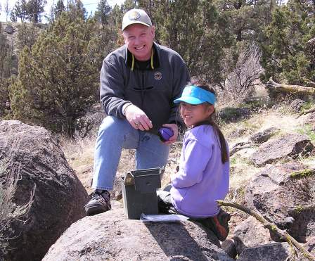 Geocaching is family fun. It has proved to my daughter that I am a geek… but that's okay.