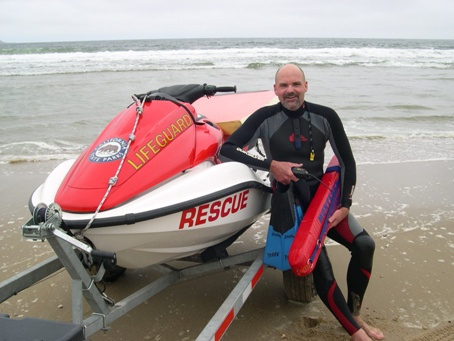 Eric Sturm, Lifeguard Monterey District of California State Parks