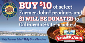 Help Farmer John Help California State Beaches