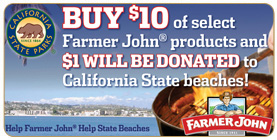 Help Farmer John, Help State Beaches.