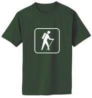 Buy Hiking Icon T-Shirts at the State Parks e-Store