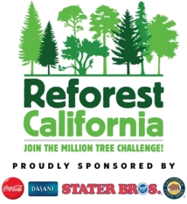The Reforest California campaign with The Coca-Cola Company, Stater Bros. Markets and California State Parks raised over $600,000 to plant one million trees.