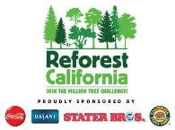 California State Parks Reforest California campaign with Coca Cola and Stater Bros Markets.