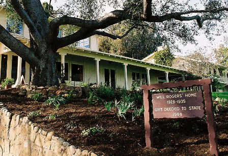 Will Rogers Ranch House