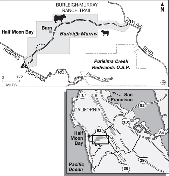 Burleigh-Murray Ranch Trail Map