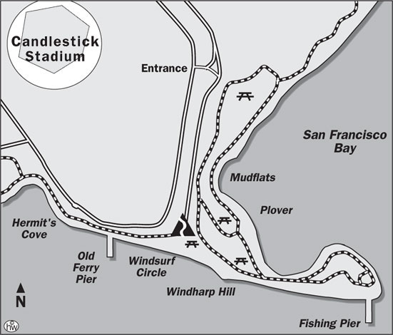 Candlestick Point Trail Map