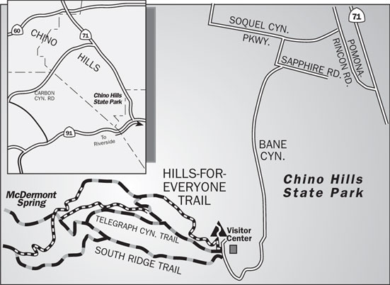 Hills-for-Everyone Trail Map