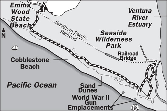 Ocean's Edge Trail Map