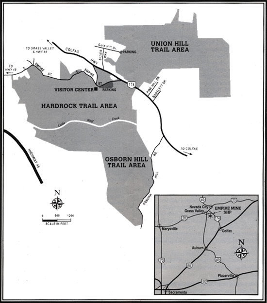 Empire Mine Trail Overview