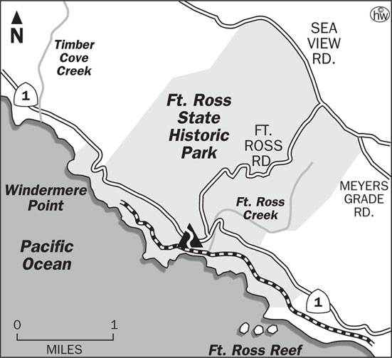 Fort Ross Trail Map