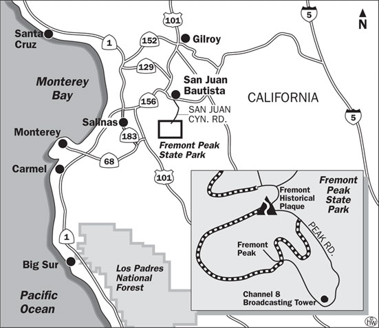 Fremont Peak Trail Map