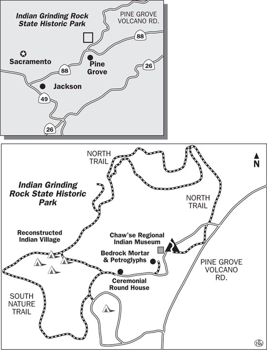 South Nature Trail Map