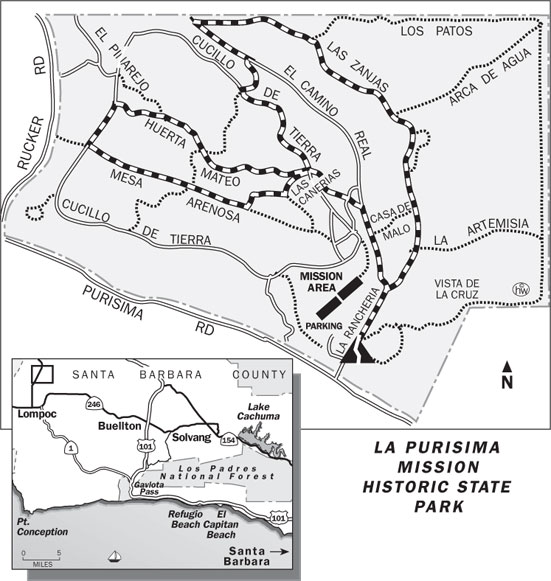El Camino Real Trail Map