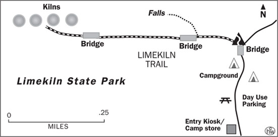 Limekiln Trail Map