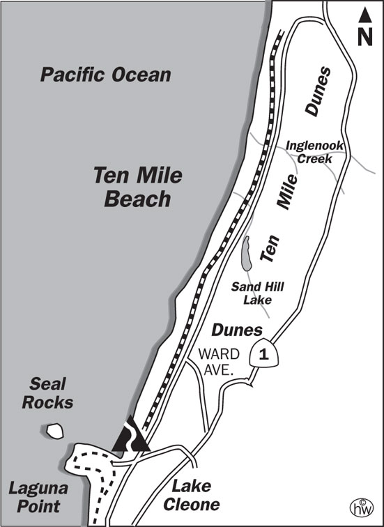 Ten Mile Beach Trail Map
