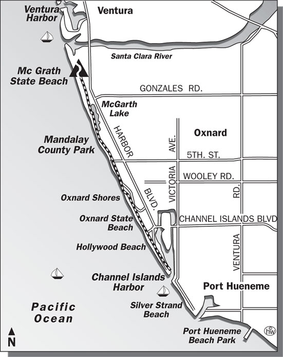 McGrath Beach Trail Map