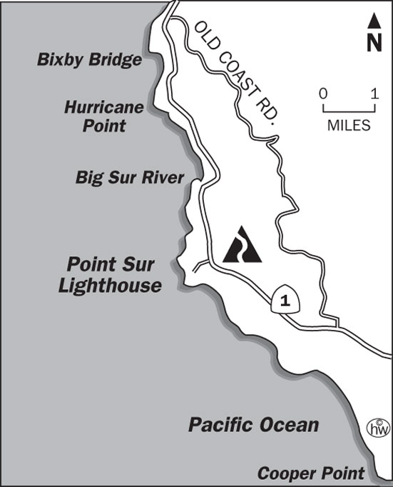 Pt. Sur Light Station Trail Map