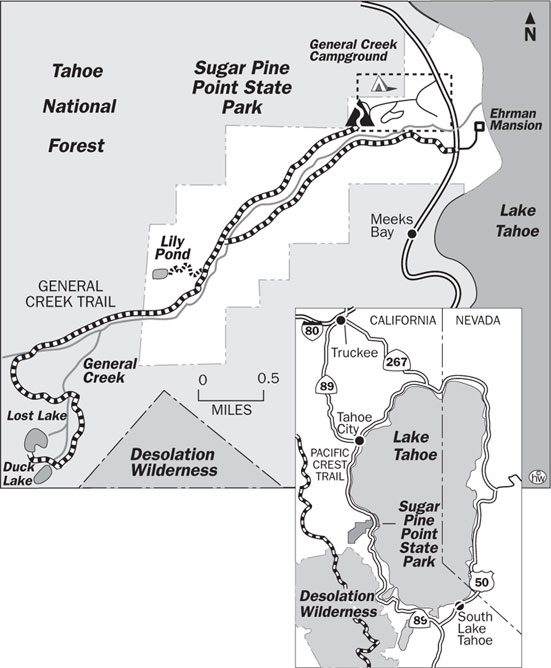 General Creek Trail Map