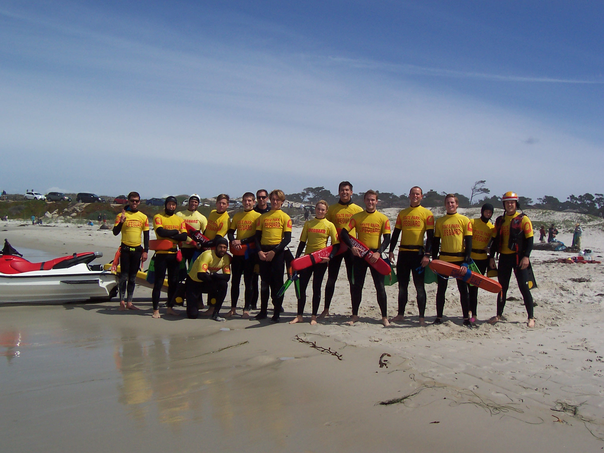 PWC Training Asilomar Beach 2014