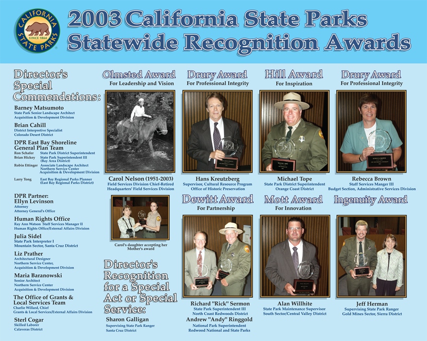2002 Awards (click to enlarge)