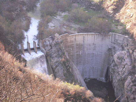 Image of the Ridge Dam