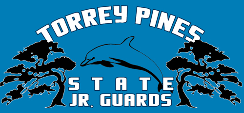 Torrey Pines State Beach Jr. Lifeguards Logo