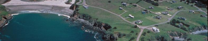 Aerial view of Casper Headlands SB