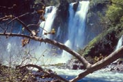 A more distant photo of Burney Falls