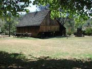 Shasta SHP - Pioneer Barn area at the park.