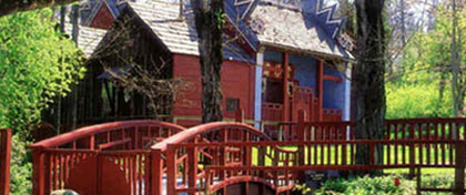 Grounds & Temple at Weaverville Joss House SHP