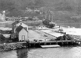 Quarantine Station at Ayala Cove
