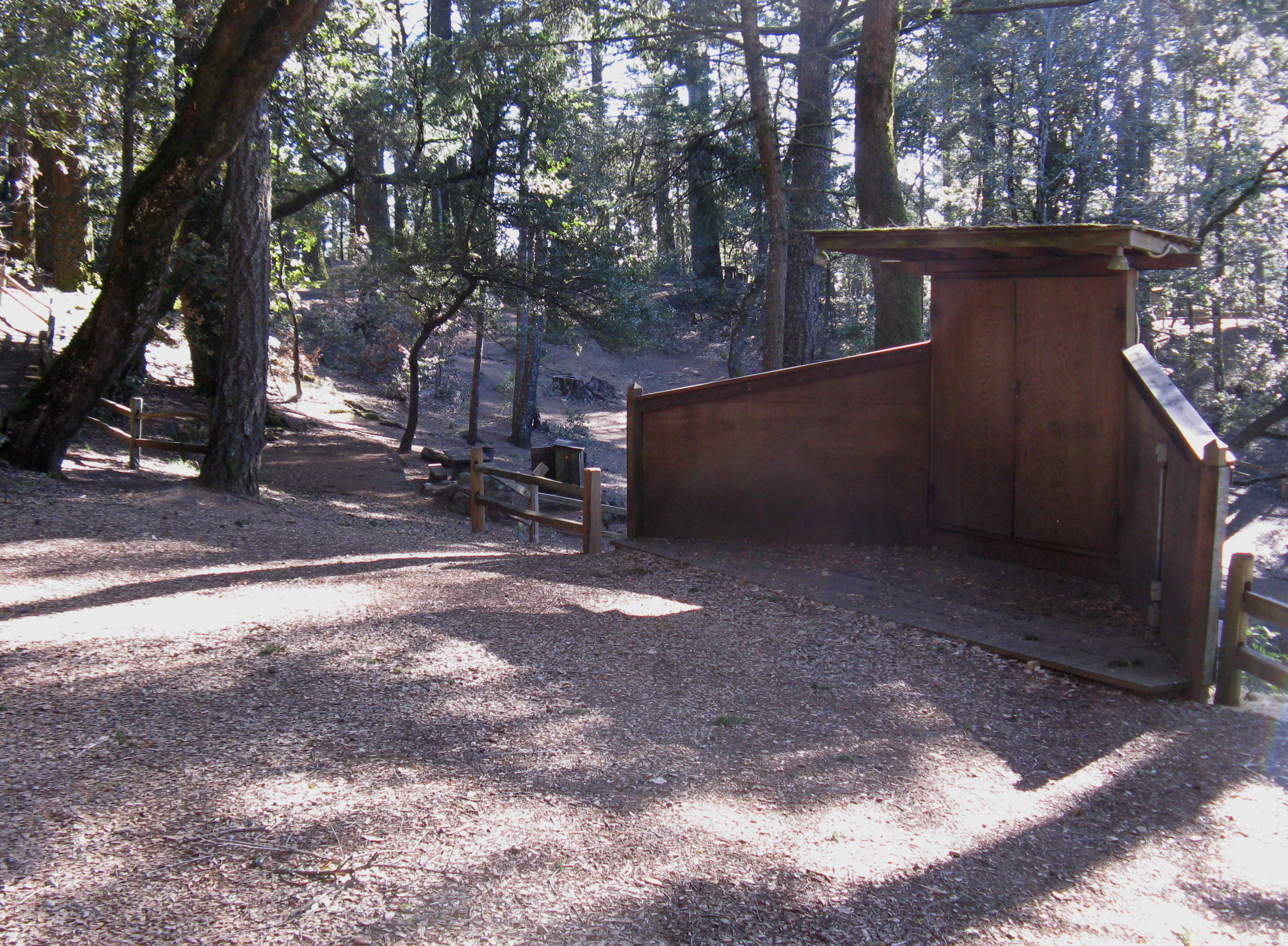 Pantoll Campground Ampitheatre