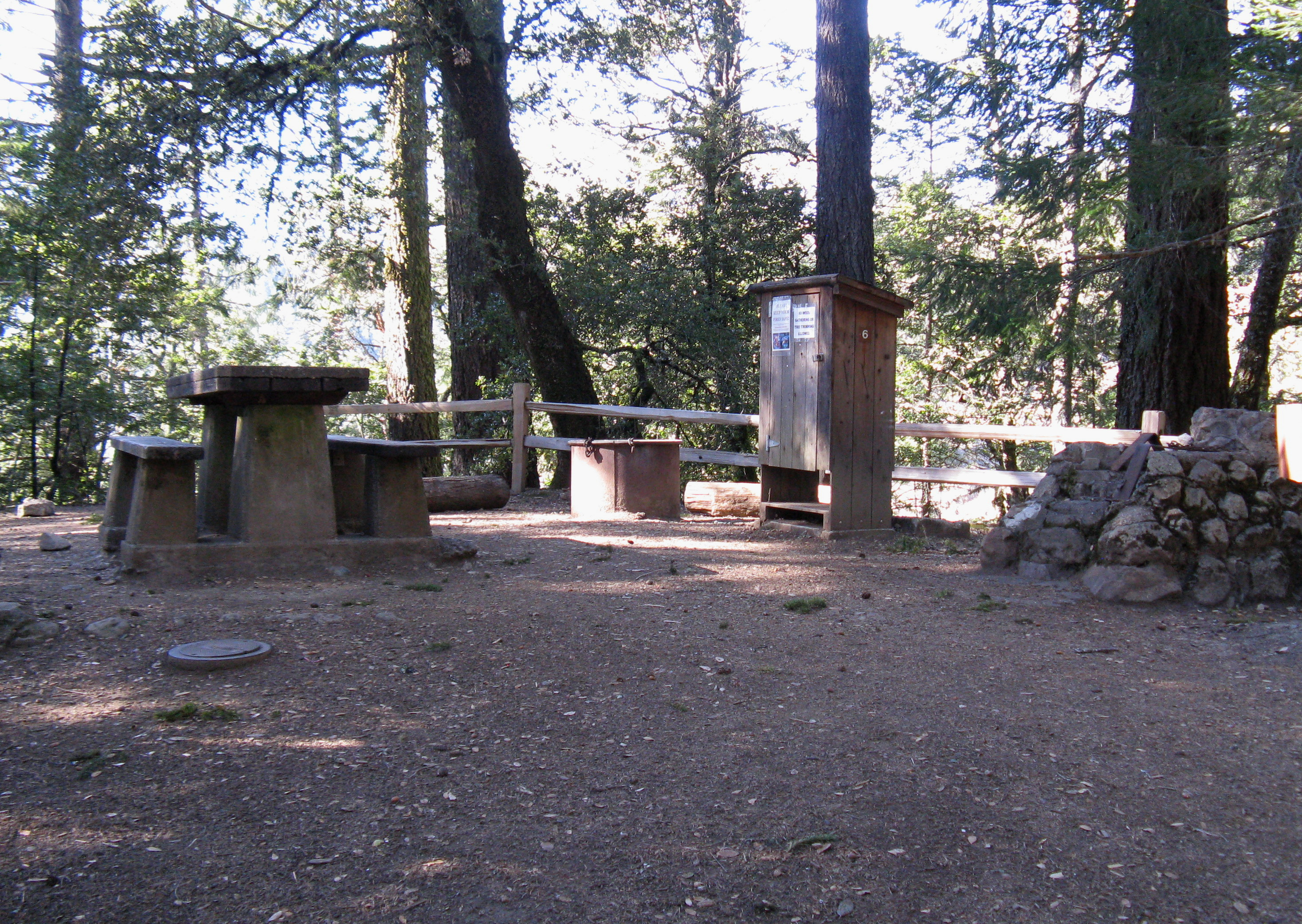 Pantoll Campground Site 6