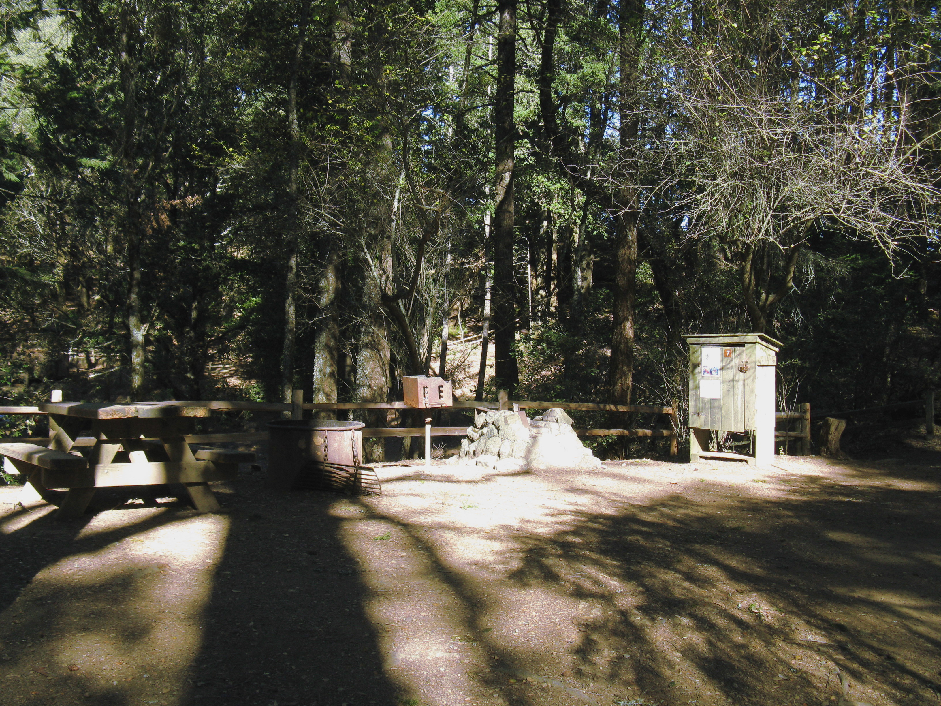 Pantoll Campground Site 7