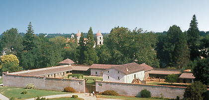 Sutters Fort State Historic Park is located in the downtown area of Sacramento.