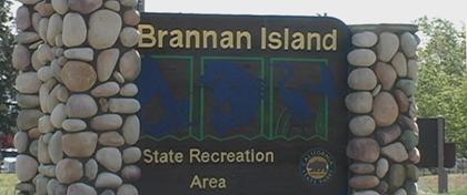 Brannan Island SRA -- Sign