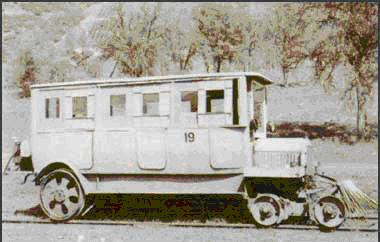 Hetch Hetchy No. 19 Railcar