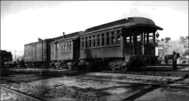 Sierra Railway combination car No. 5 and coach No. 6