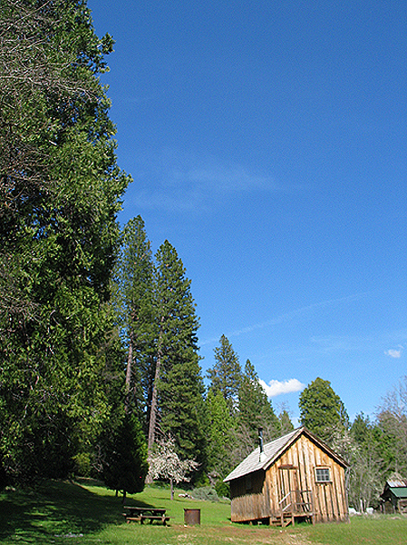 Rental cabin for visitors. Reserve through Reservations link on park web page.