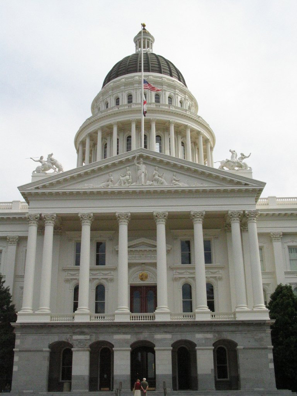 California State Capitol Building.