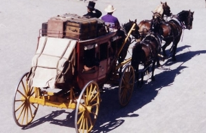 Gold Rush Days Stagecoach