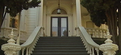 Front entrance to the Governors Mansion State Historic Park
