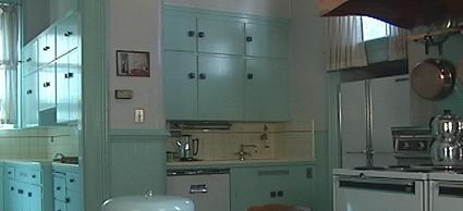 Kitchen inside the Governor\'s Mansion