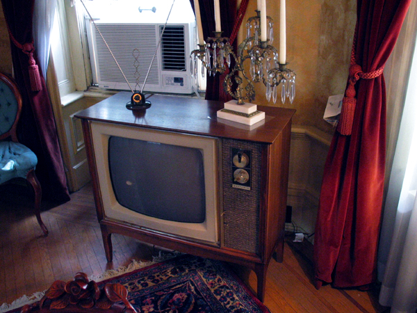 Governor Knight's (1953-1958) television.