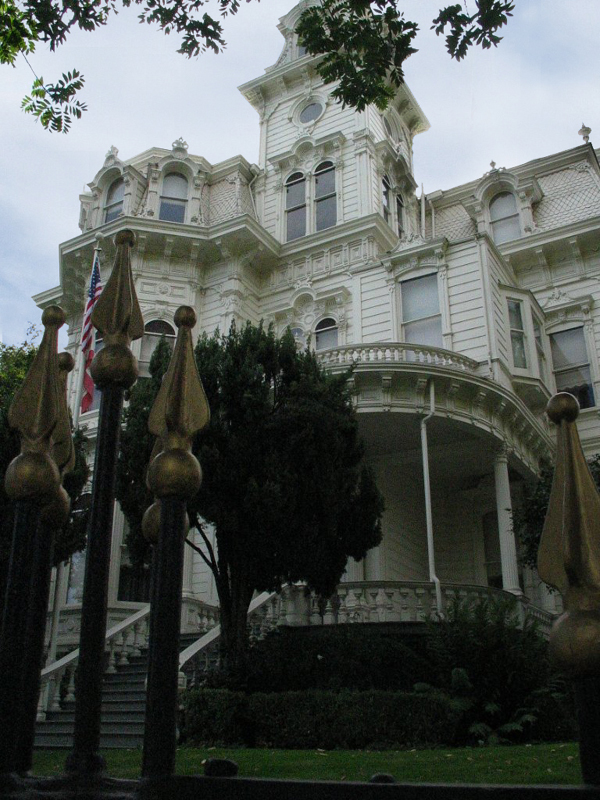 Front of Mansion.