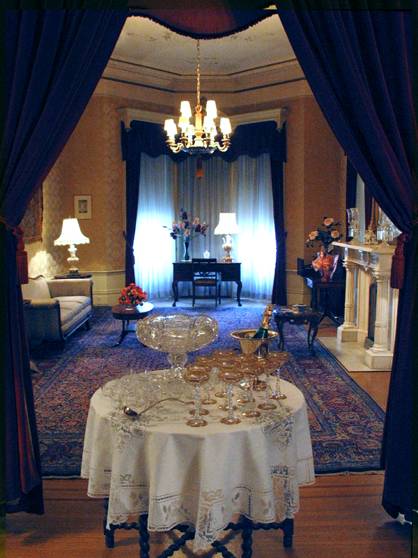 The formal parlor.