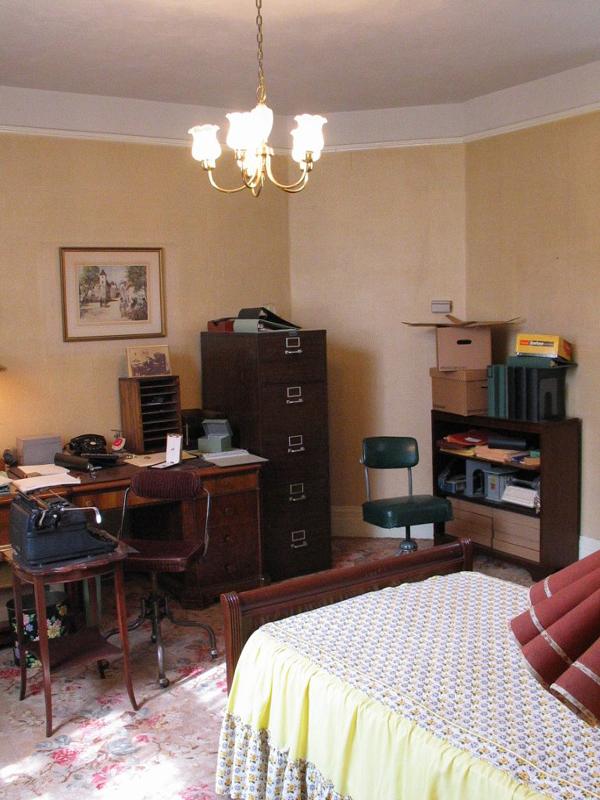 Betty Henderson's office.